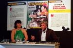 Valentina De Poli (Direttore di Topolino) e Francesco Morace (Direttore Future Concept Lab, sociologo)