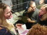 with Arja Hop e Silvia Faggian